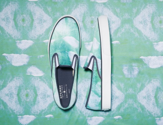 These unisex slipons featuring waves from Cape Town will surely have you walking on water.